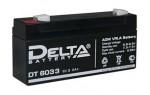 Аккумулятор 6 В, 3,3 Ач DT 6033 Delta