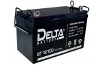 Аккумулятор 12 В, 100 Ач DT 12100 Delta