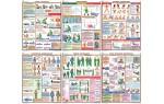 Плакаты  Первая медицинская помощь  (Распродажа. На складе 1 шт.)