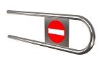 Дуга на калитку ОК61 ( 25 L=700 мм)