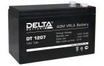 Аккумулятор 12 В, 7 Ач DT 1207 Delta